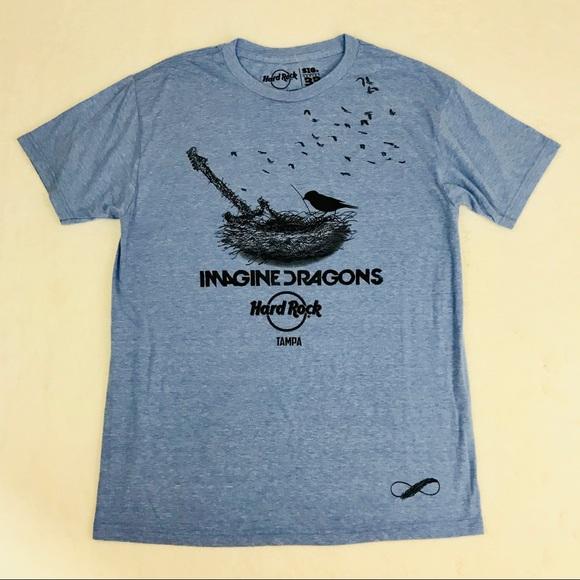 98b51014304a Hard Rock Cafe Other - Imagine Dragons Hard Rock Cafe Tampa T-Shirt L NEW